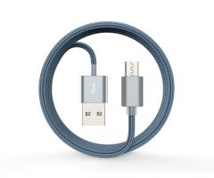 Devia Gracious micro USB 1.5mt Gray