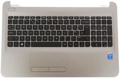 HP 250 G4 HP Top cover/keyboard PT Turbo Silver - 813975-131