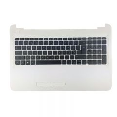 HP 250 G4 HP Top cover/keyboard PT White Silver - 813976-131