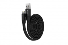 Devia Cable Flexible Lightning 80cm Black